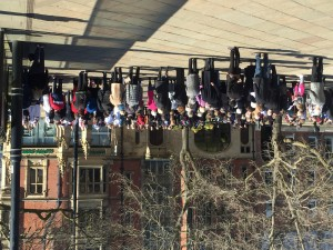 Holy Week in Sheffield city centre