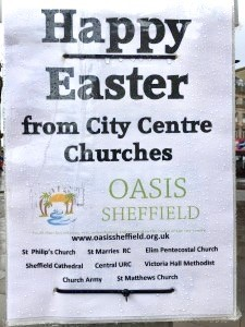 Happy Easter from Sheffield Oasis City Centre churches